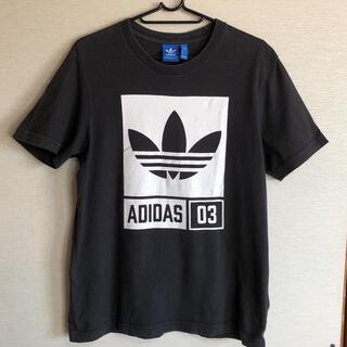 アディダス(adidas)の【アディダス オリジナルス】adidas ボックスロゴ Tシャツ(Tシャツ/カットソー(半袖/袖なし))