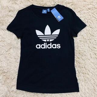アディダス(adidas)の新品 タグ付き adidas アディダス 半袖 Tシャツ 黒(Tシャツ(半袖/袖なし))