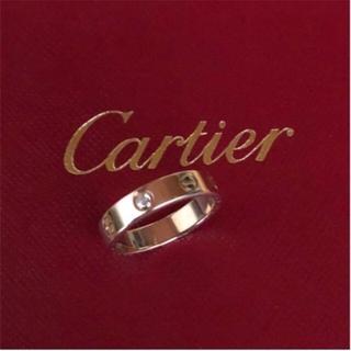 Cartier - カルティエリング ダイヤ ピンクゴールド✨美品✨