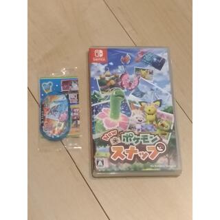 Nintendo Switch - 送料無料 美品 中古 New ポケモンスナップ Switch 特典付き