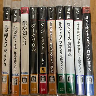 プレイステーション3(PlayStation3)のPS3 ソフト 10枚 まとめ売り プレステ3 プレイステーション(家庭用ゲームソフト)