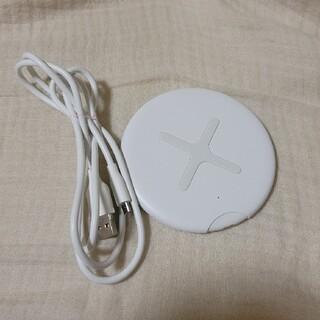ムジルシリョウヒン(MUJI (無印良品))の無印良品 スマートフォン用ワイヤレス充電器(バッテリー/充電器)