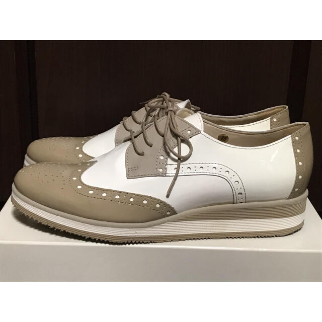 PELLICO(ペリーコ)の新品未使用☆約3,8万 Luca Grossi ルカグロッシ シューズ ・38 レディースの靴/シューズ(ローファー/革靴)の商品写真