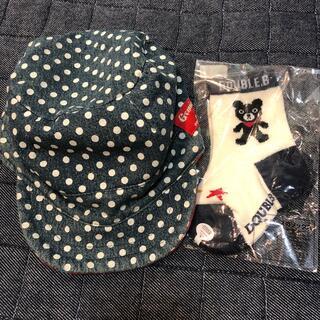 ブリーズ(BREEZE)のリバーシブル帽子 11〜13センチの靴下つけます(帽子)