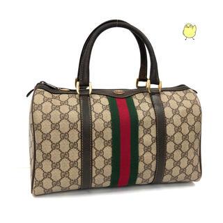 グッチ(Gucci)の美品 グッチ GUCCI ミニボストンバッグ ハンドバッグ オールドグッチ(ボストンバッグ)