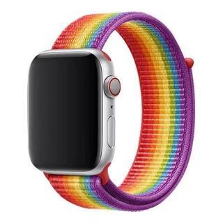 アップルウォッチ(Apple Watch)の未開封品 apple watch純正品バンド スポーツループapple 正規品(その他)