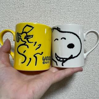 スヌーピー(SNOOPY)のSNOOPY ペアマグカップ(マグカップ)
