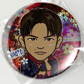 サンダイメジェイソウルブラザーズ(三代目 J Soul Brothers)のNAOTO NAOTO夜桜 NAOTO75mm NAOTOレア 缶バッジ(ミュージシャン)