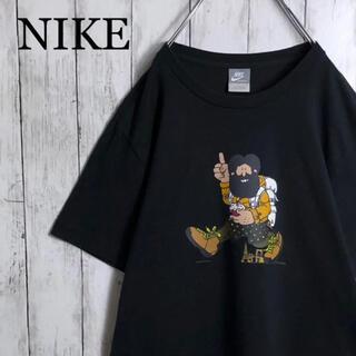 NIKE - 【美品】 ナイキ HIKE NIKE 両面プリント Tシャツ L 黒
