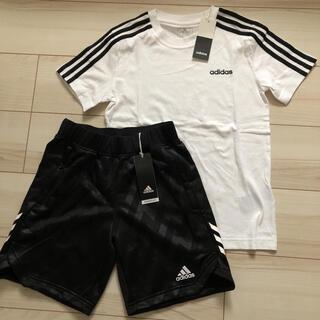 アディダス(adidas)の【新品】アディダス Tシャツ/ハーフパンツ 上下セット 140(その他)