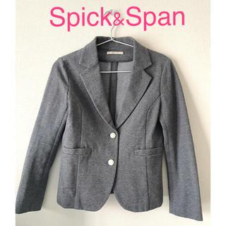 スピックアンドスパン(Spick and Span)の【美品】Spick &Span テーラードジャケット(テーラードジャケット)