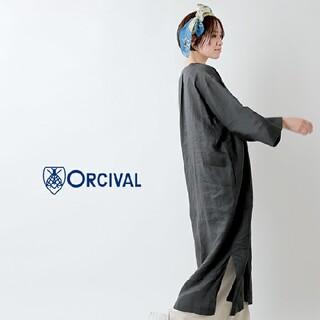 オーシバル(ORCIVAL)の2021春夏商品 オーシバル カフタン ドレス ワンピース リネンワンピース(ロングワンピース/マキシワンピース)