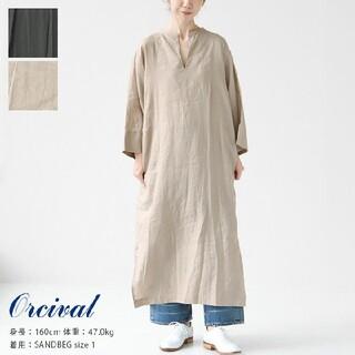 オーシバル(ORCIVAL)の2021春夏商品 オーシバル カフタン ドレス ワンピース リネンワンピース2(ロングワンピース/マキシワンピース)