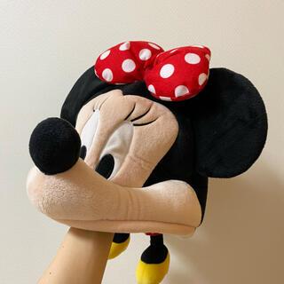 ディズニー(Disney)の即購入OK❗️ ファンキャップ ディズニー ミニー 被り物 帽子 カチューシャ(キャラクターグッズ)