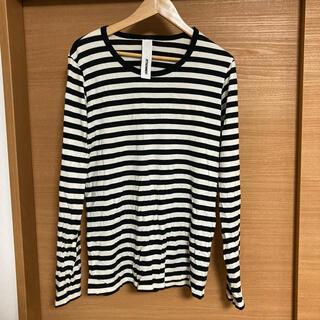 カズユキクマガイアタッチメント(KAZUYUKI KUMAGAI ATTACHMENT)のKAZUYUKI KUMAGAI ATTACHMENT ボーダーシャツ(Tシャツ/カットソー(七分/長袖))