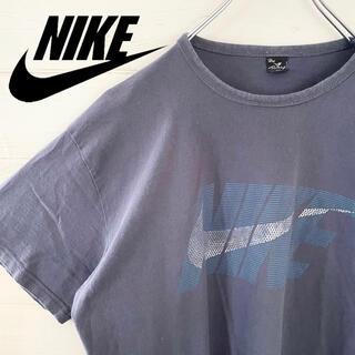 ナイキ(NIKE)の【極レア】NIKE ナイキ Tシャツ センターデカロゴ 古着 ビッグスウォッシュ(Tシャツ/カットソー(半袖/袖なし))