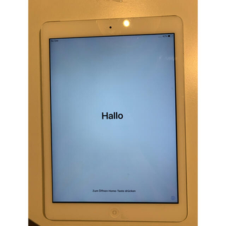 iPad - 早い物勝 au iPad air 16GB Wi-Fi+Cellular 判定◯