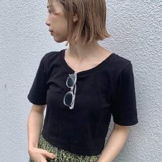 カスタネ(Kastane)のカスタネ ストレッチチビTEE(Tシャツ(半袖/袖なし))