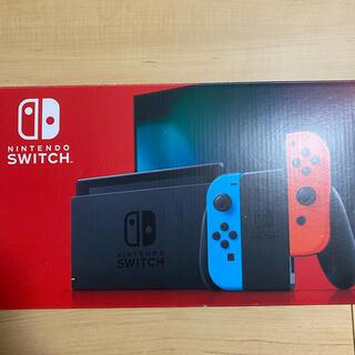 Nintendo Switch - 【美品】Switch 任天堂スイッチ本体 新型 ネオン ニンテンドウ