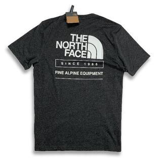 ザノースフェイス(THE NORTH FACE)のノースフェイス「新品正規品タグ付き」海外限定Throw back TシャツM(Tシャツ/カットソー(半袖/袖なし))
