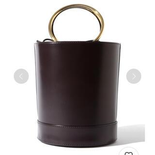 デミルクスビームス(Demi-Luxe BEAMS)のDemi-Luxe BEAMS / 筒型ショルダー付バッグ(ハンドバッグ)