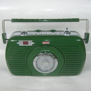 コールマン(Coleman)のコールマン スピーカー内蔵CDラジオプレーヤー EMCD-9800(ポータブルプレーヤー)