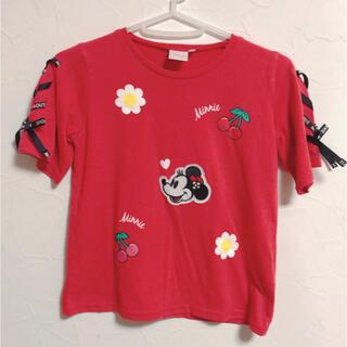 ディズニー(Disney)の〔130㎝〕ミニーちゃんTシャツ(Tシャツ/カットソー)