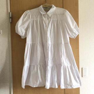 ザラ(ZARA)のティアードチュニック (シャツ/ブラウス(半袖/袖なし))