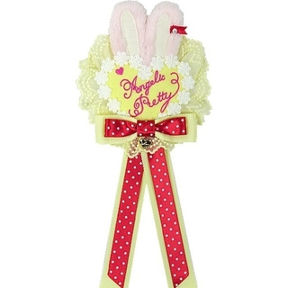 アンジェリックプリティー(Angelic Pretty)のLittle bunny ロゼッタブローチ 未使用(ブローチ/コサージュ)