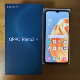 OPPO - oppo Reno3 A デュアルSIM 美品