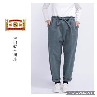 evam eva - 中川政七商店 ノラパンツ 薄墨