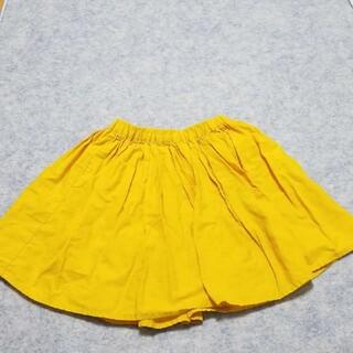 グローバルワーク(GLOBAL WORK)のキュロット 黄色 グローバルワーク(スカート)