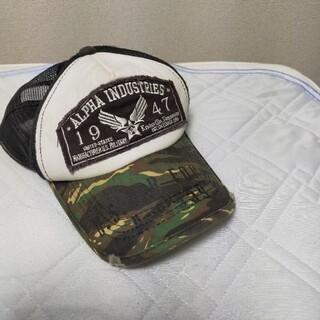 アルファ(alpha)の帽子(キャップ)