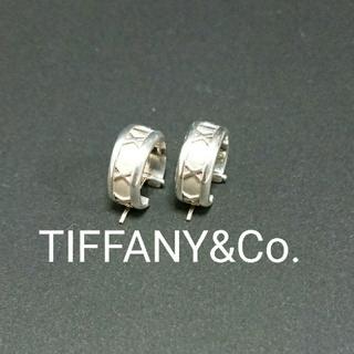 Tiffany & Co. - 中古 ティファニー アトラスフープピアス