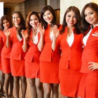 ジャル(ニホンコウクウ)(JAL(日本航空))のエアアジア 制服(ノベルティグッズ)