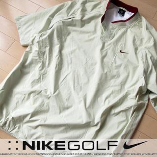 ナイキ(NIKE)の超美品 L NIKE ナイキゴルフ メンズ 半袖ナイロンプルオーバー(ウエア)