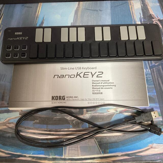 KORG(コルグ)のコルグ KORG nanoKEY2-BK 楽器のDTM/DAW(MIDIコントローラー)の商品写真
