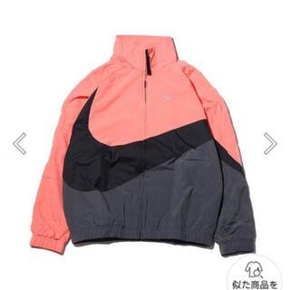 ナイキ(NIKE)の新品タグ付き NIKE ビッグスウッシュ ジャケット 定価14300円(ナイロンジャケット)