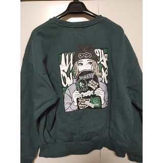 WHO'S WHO gallery - overprint × 9090 ×Hime Skater Girl Sweat
