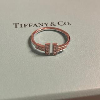 Tiffany & Co. - Tiffany ダイヤモンドワイヤーリング