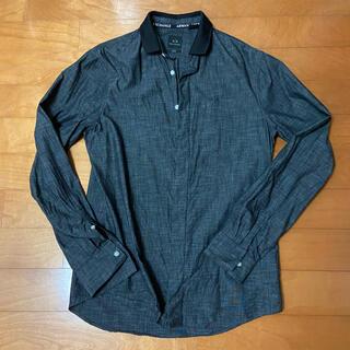 ARMANI EXCHANGE - アルマーニ エクスチェンジ 黒シャツ