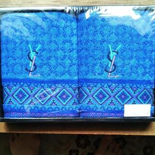 イヴサンローランボーテ(Yves Saint Laurent Beaute)の新品未使用品 イブサンローラン フェイスタオルセット(タオル/バス用品)