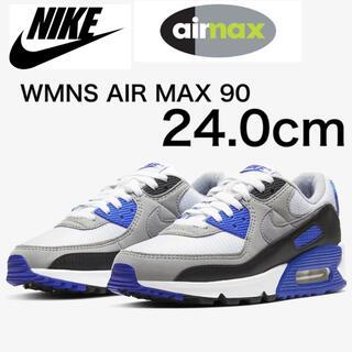 ナイキ(NIKE)のnike air max 90 レディース  24.0cm(スニーカー)
