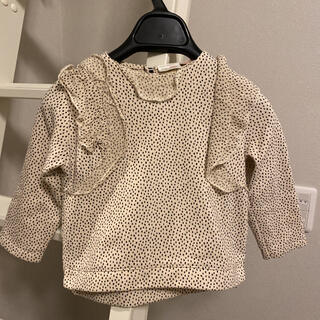 ザラキッズ(ZARA KIDS)のzara Baby フリルトレーナー サイズ92(Tシャツ/カットソー)