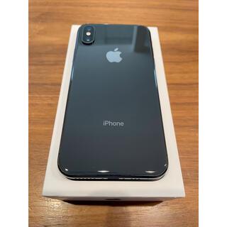 iPhone - 【美品】iPhone XS 256GB スペースグレー SIMフリー