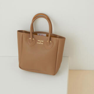 Adam et Rope' - 【YOUNG&OLSEN】別注 EMBOSSED LEATHER TOTE S