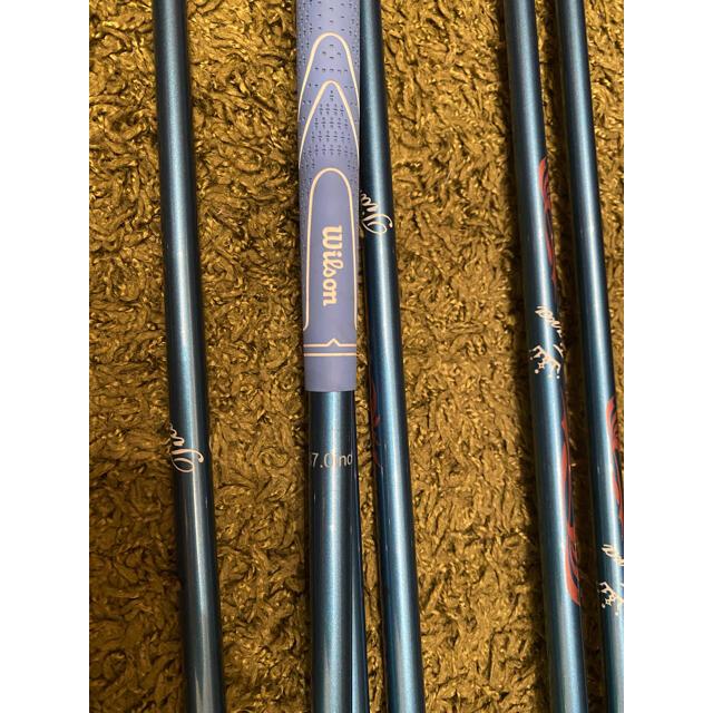 wilson(ウィルソン)のお試し価格  ウィルソン  レディースゴルフセット  シャフトL スポーツ/アウトドアのゴルフ(クラブ)の商品写真