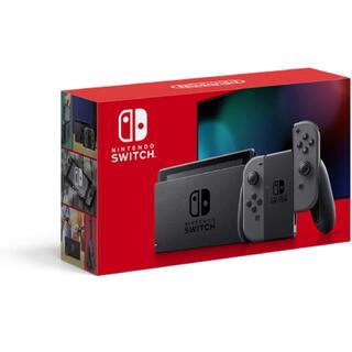 ニンテンドースイッチ(Nintendo Switch)のNintendo Switch 本体 グレー(家庭用ゲーム機本体)