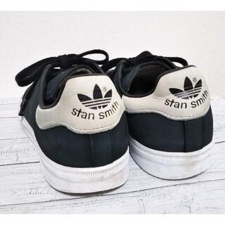 アディダス(adidas)のadidas   スタンスミス 黒×白 24cm(スニーカー)