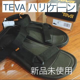 テバ(Teva)のTEVA ハリケーン 黒 メンズ サンダル 新品未使用 テバ 28 アウトドア(サンダル)
